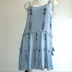 BEACH BY EXIST | SPAGHETTI STRAPS | BOHO DRESS E